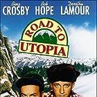 Bing Crosby and Bob Hope in Road to Utopia (1945)
