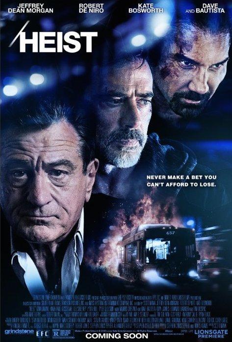Heist (2015) Hindi Dubbed