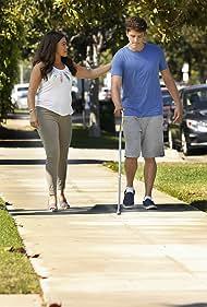 Gina Rodriguez and Brett Dier in Jane the Virgin (2014)