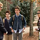 Andrew Daly, Griffin Gluck, Thomas Barbusca, and Isabela Merced in Middle School: The Worst Years of My Life (2016)