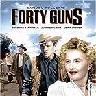 Barbara Stanwyck, John Ericson, and Dean Jagger in Forty Guns (1957)