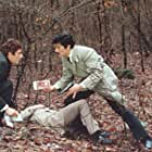 Alain Delon, Gian Maria Volontè, and Jean-Pierre Janic in Le cercle rouge (1970)