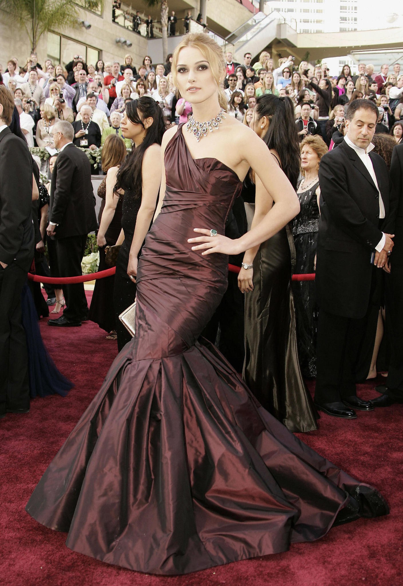 Keira Knightley at an event for The 78th Annual Academy Awards (2006)