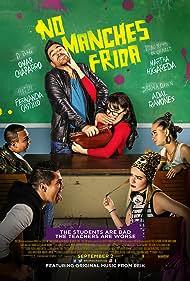 Adal Ramones, Martha Higareda, Omar Chaparro, and Fernanda Castillo in No manches Frida (2016)