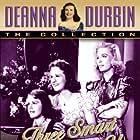 Deanna Durbin, Nan Grey, and Helen Parrish in Three Smart Girls Grow Up (1939)