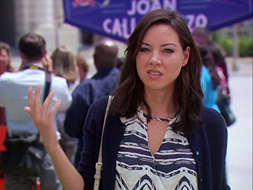 Aubrey Plaza in Parks and Recreation (2009)