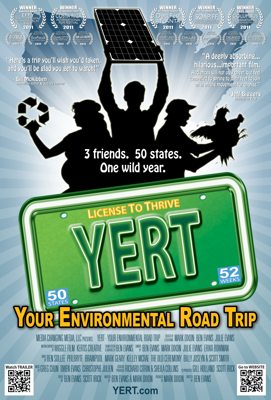 Yert Your Environmental Road Trip 2011 Imdb Yert (your environmental road trip): imdb
