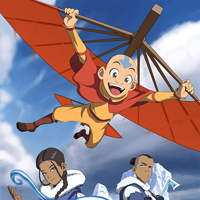 Zach Tyler, Mae Whitman, and Jack De Sena in Avatar: The Last Airbender (2005)