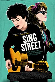Lucy Boynton and Ferdia Walsh-Peelo in Sing Street (2016)