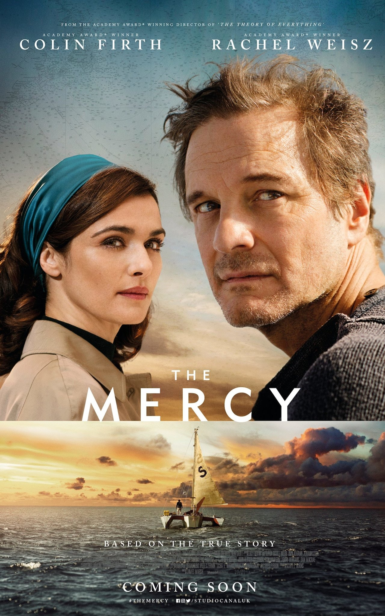Image result for the mercy movie poster