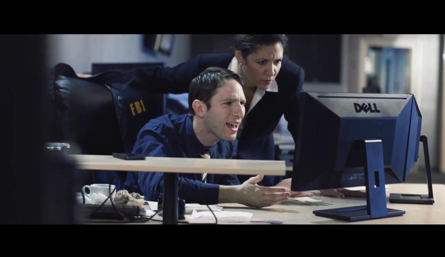 Iliana Guibert and Dan Shaked in Compromised (2014)