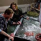 Ian Ziering, Jaason Simmons, and Cassandra Scerbo in Sharknado (2013)