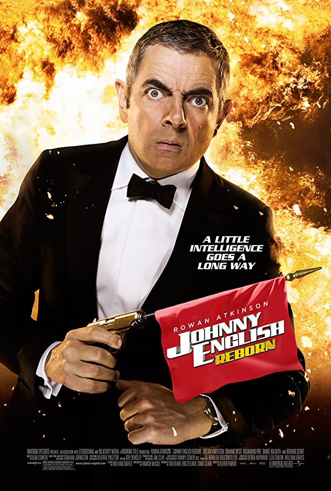 Johnny English Reborn 2011 Hindi Dual Audio 350MB BluRay ESubs Download