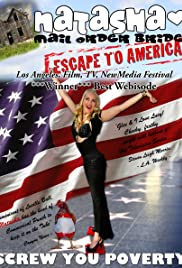 Natasha Mail Order Bride Escape to America Poster