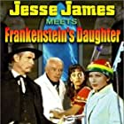 Cal Bolder, Steven Geray, John Lupton, Narda Onyx, and Estelita Rodriguez in Jesse James Meets Frankenstein's Daughter (1966)