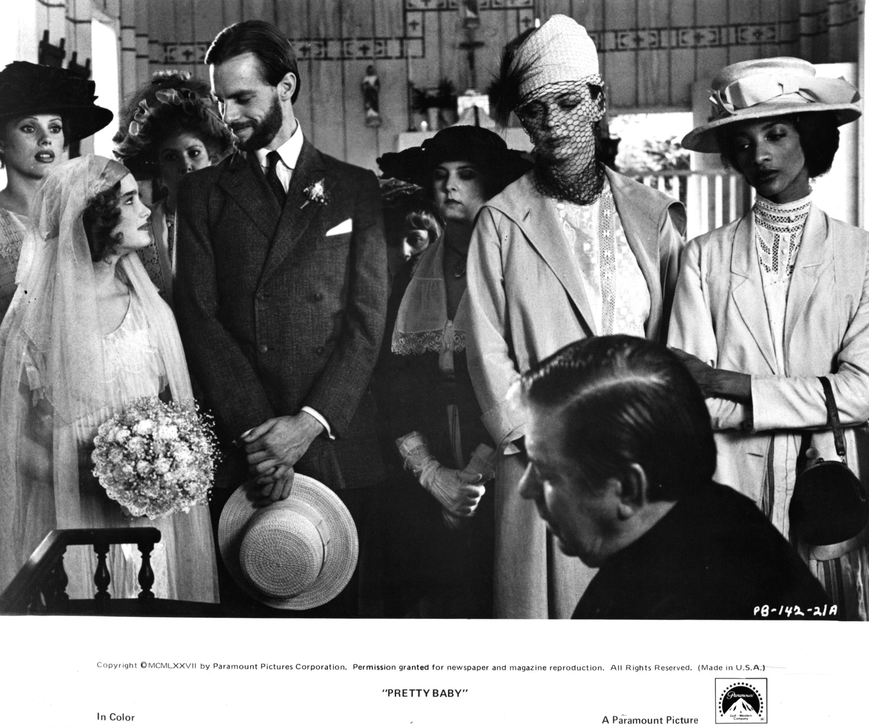 Brooke Shields, Keith Carradine, and Barbara Steele in Pretty Baby (1978)