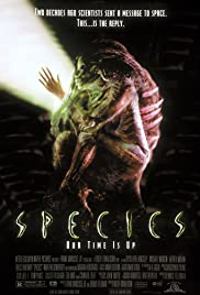 Species (1995) Poster - Movie Forum, Cast, Reviews