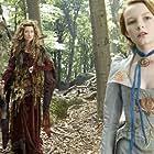 Natascha McElhone and Dakota Blue Richards in The Secret of Moonacre (2008)