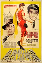 The Girl of San Pietro Square Poster