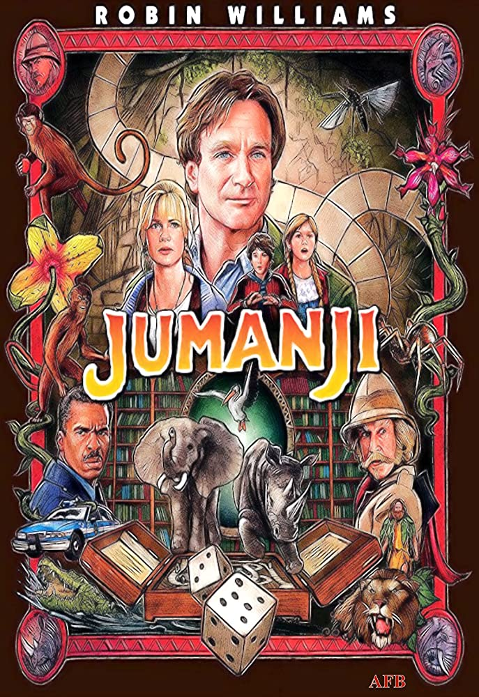 Jumanji 1995 Dual Audio Hindi 380MB BluRay ESubs Download
