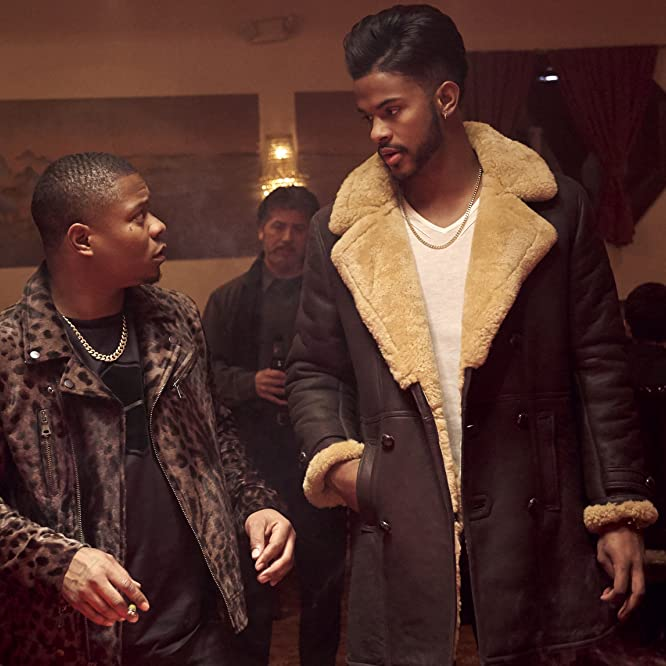Trevor Jackson and Jason Mitchell in SuperFly (2018)