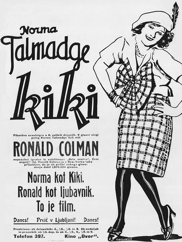 Norma Talmadge in Kiki (1926)