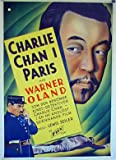 Charlie Chan in Paris poster thumbnail