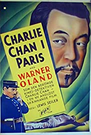 Charlie Chan in Paris Poster