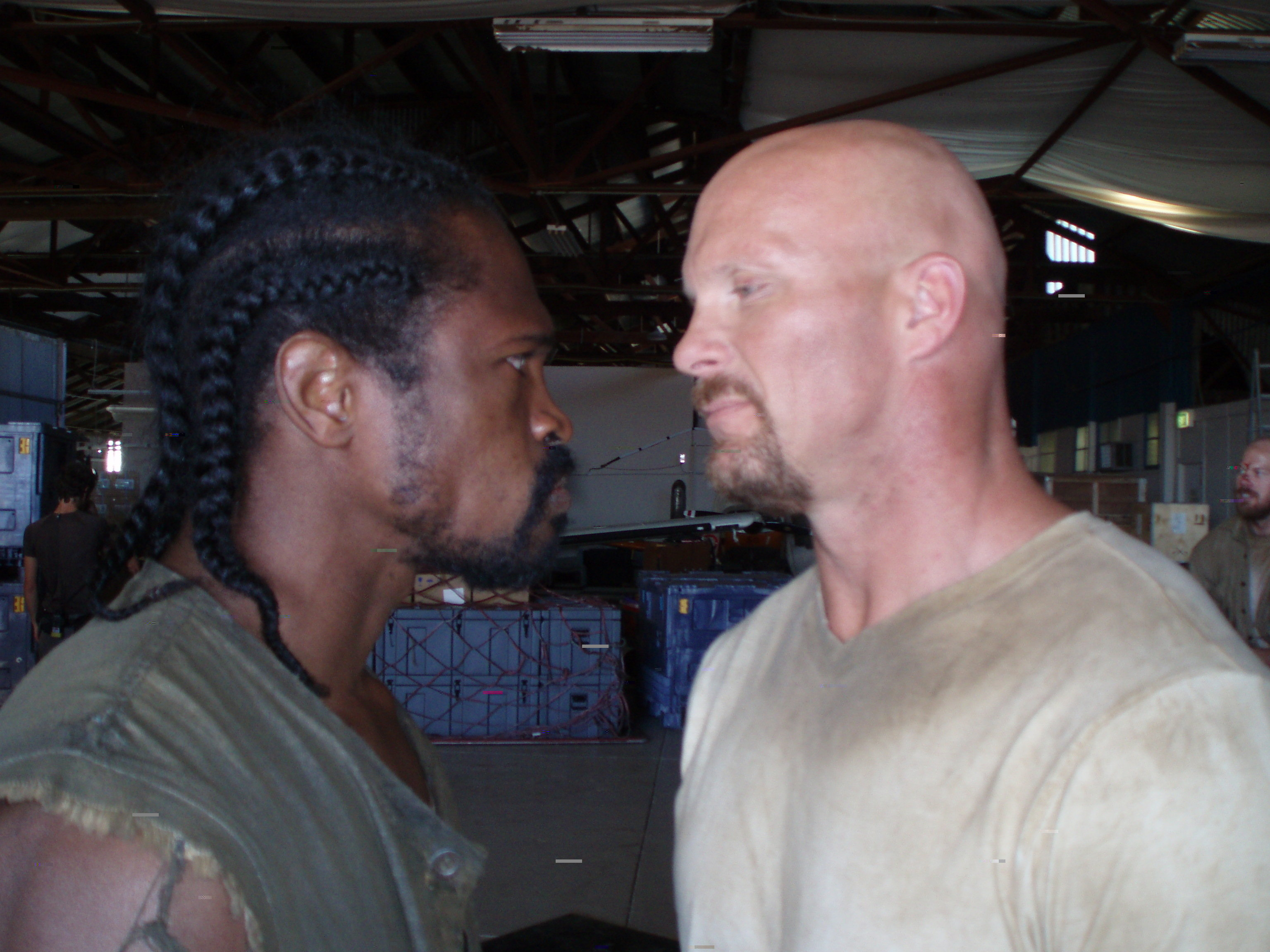 """Marcus and Stone Cold squar off  """"The Condemned"""""""