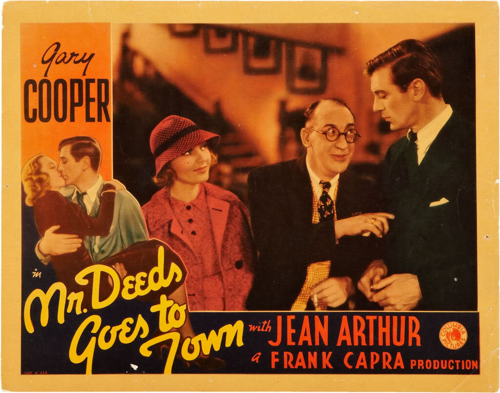 mr deeds goes to town blu ray