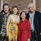 Hannelore Elsner, Günther Maria Halmer, Richard Huber, and Marlene Morreis in Lang lebe die Königin (2020)