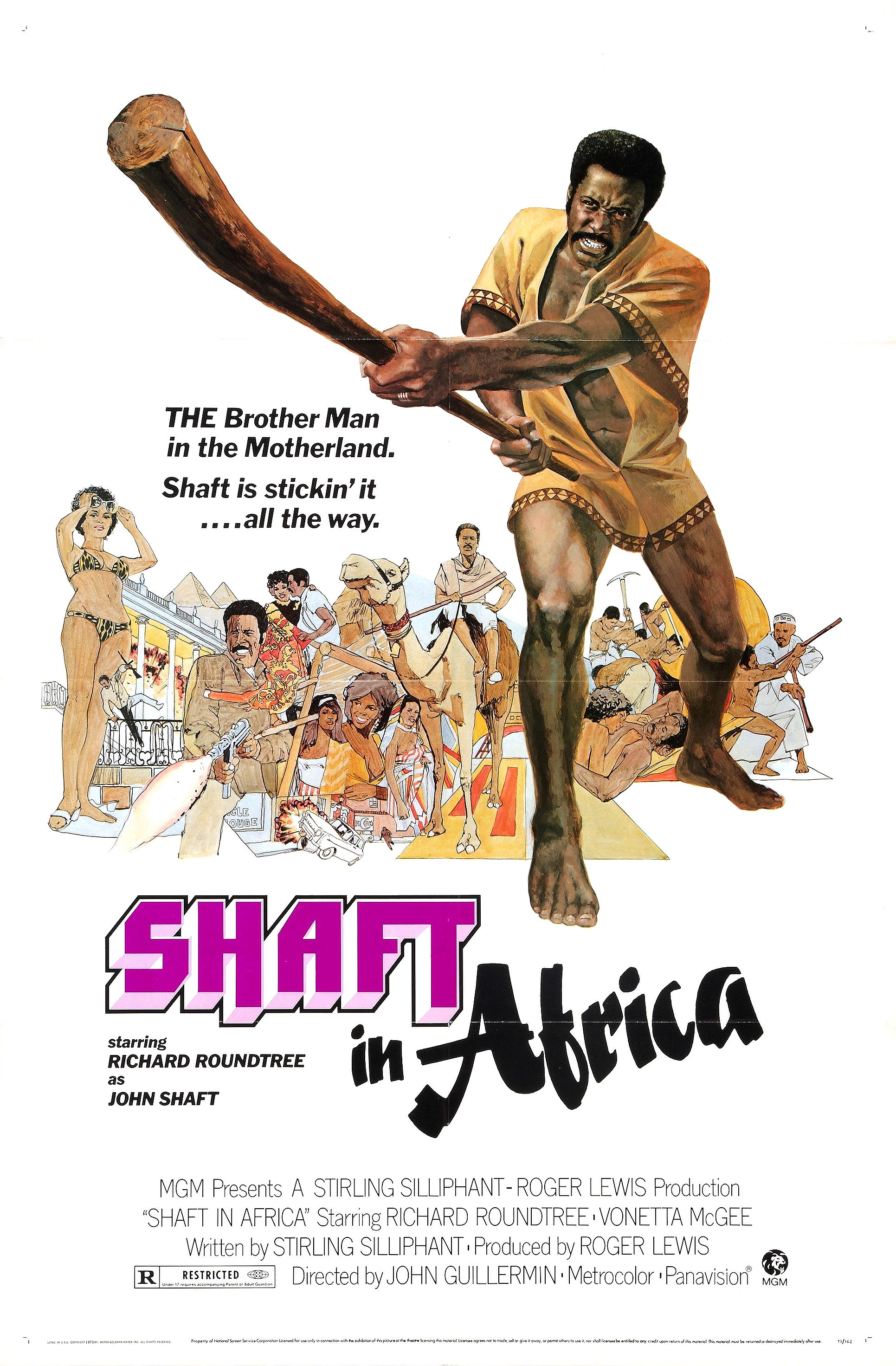 Shaft in Africa (1973) - IMDb