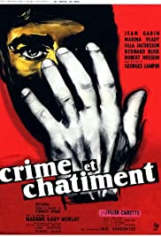 Crime and Punishment (1956) Poster - Movie Forum, Cast, Reviews