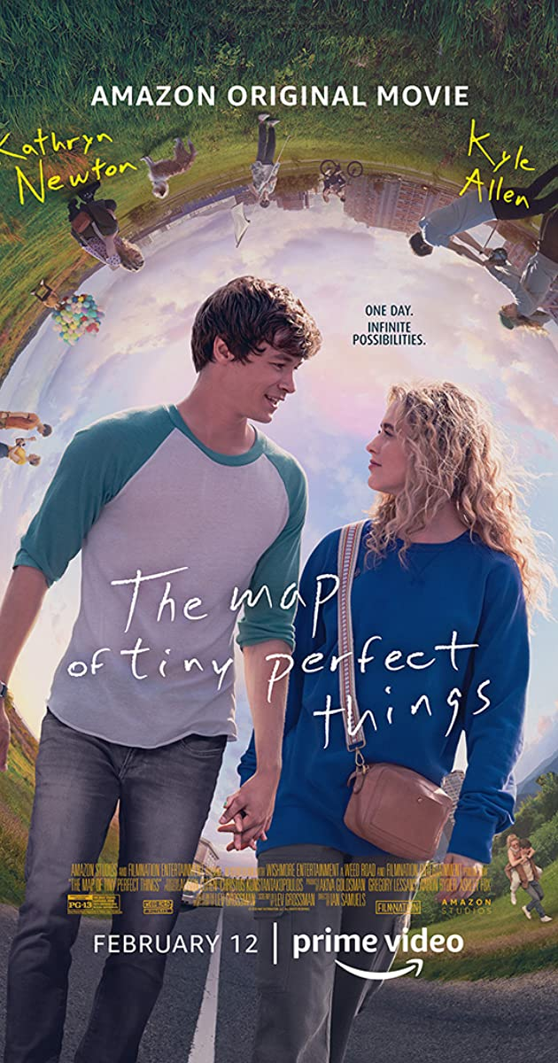 The Map of Tiny Perfect Things (2021) WebRip 720p Dual Audio [Hindi (Voice Over) Dubbed + English] [Full Movie]