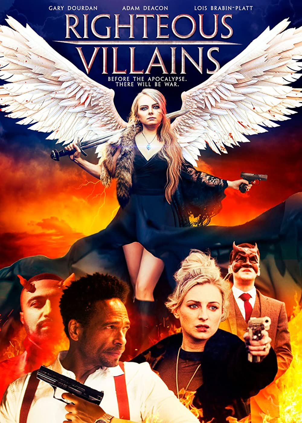 Righteous Villains 2020 English 720p HDRip 800MB | 250MB Download