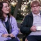 Steve Pemberton and Sarah Solemani in Psychoville (2009)