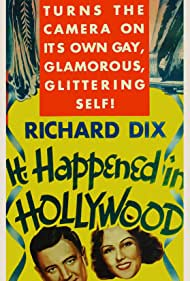 Richard Dix and Fay Wray in It Happened in Hollywood (1937)