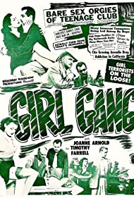 Joanne Arnold and Timothy Farrell in Girl Gang (1954)