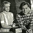 Louis Miehe-Renard and Annemette Svendsen in Den gamle mølle paa Mols (1953)