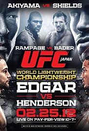 UFC 144: Edgar vs. Henderson Poster