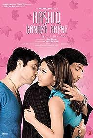 Sonu Sood, Emraan Hashmi, and Tanushree Dutta in Aashiq Banaya Aapne: Love Takes Over (2005)