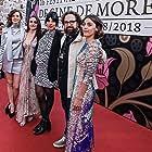 Alejandra Márquez Abella, Gabriela Maire, Johanna Murillo, Ilse Salas, and Rodrigo Sebastian Gonzalez at an event for Las niñas bien (2018)