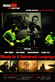 Music Is a Universal Language Poster