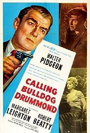 Calling Bulldog Drummond Poster