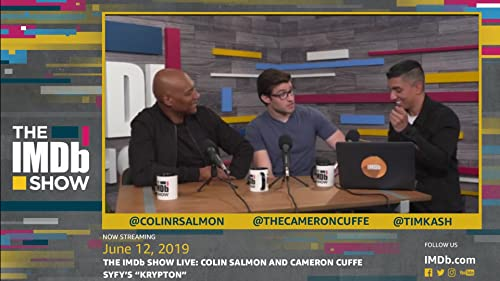 "Colin Salmon and Cameron Cuffe Play ""Superman"" Trivia"