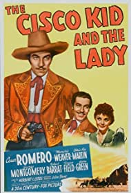 Cesar Romero and Marjorie Weaver in The Cisco Kid and the Lady (1939)