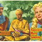 Rex Harrison, George Sanders, and Virginia Mayo in King Richard and the Crusaders (1954)