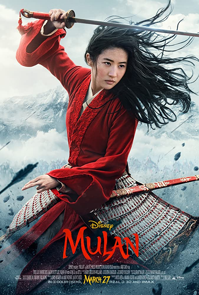 Mulan 2020 720p HDRip Hindi  Chi 800MB