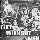Linda Darnell, Edgar Buchanan, Michael Duane, Robert Homans, and Richard Loo in City Without Men (1943)