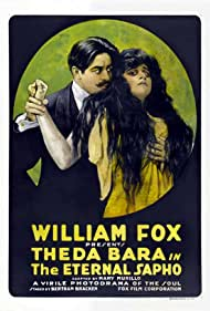 Theda Bara and Walter P. Lewis in The Eternal Sappho (1916)